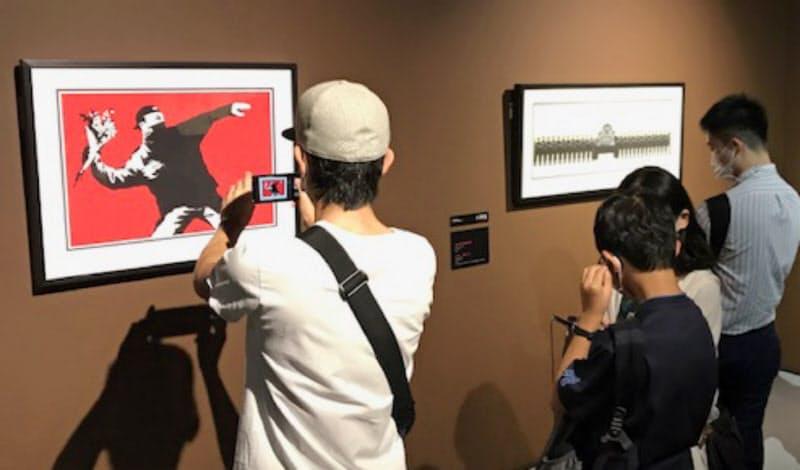 開催中のバンクシー展は撮影自由。SNS投稿で評判が広がる
