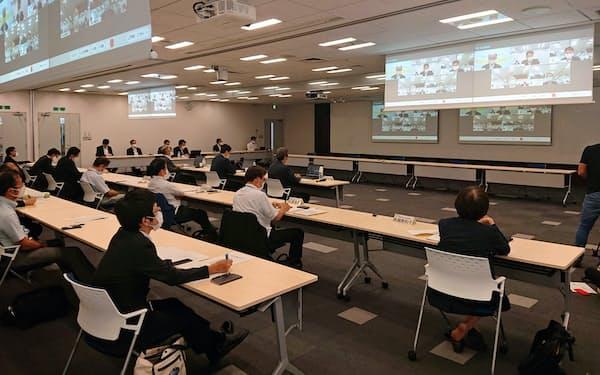 福島第1原発処理水に関する第6回意見聴取会(9月9日、東京・港)