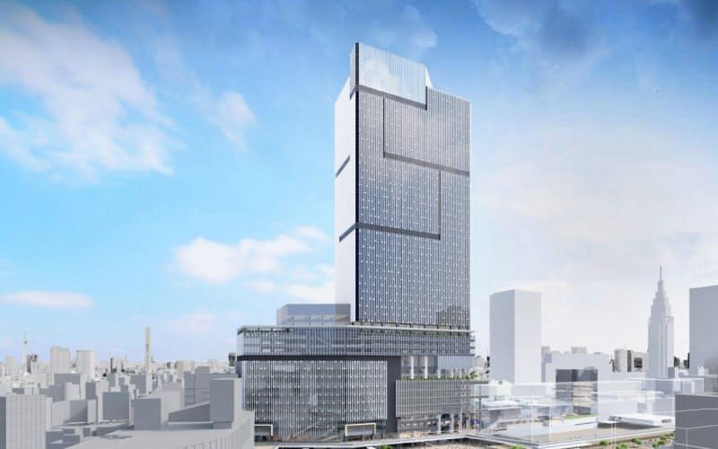 小田急電鉄と東京メトロが計画する新宿駅西口地区の複合ビル