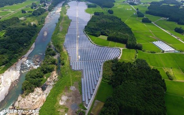 大和エナジー・インフラは太陽光発電所のファンド化を強化する