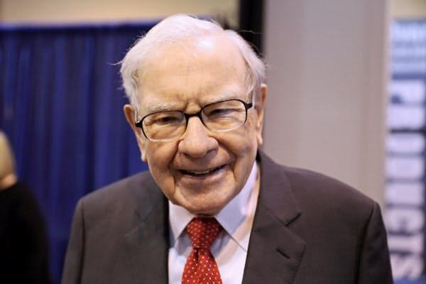 バフェット氏率いるバークシャー・ハザウェイはハイテク・ベンチャーへの投資を決めた=ロイター