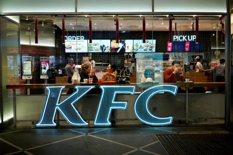 ヤム・チャイナは中国でケンタッキー・フライド・チキンなどを展開する=ロイター