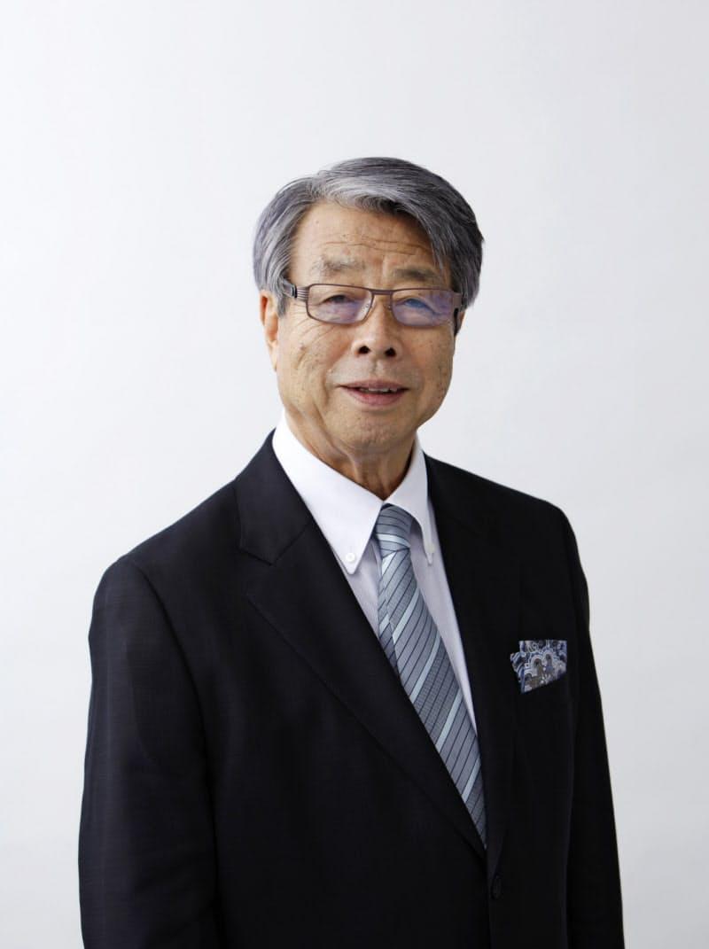 10日付で取締役を退任する牛尾治朗氏