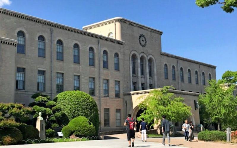 神戸大学の藤野一夫教授がアンケート調査をもとに損失額を推計した(神戸市の神戸大学六甲台キャンパス)
