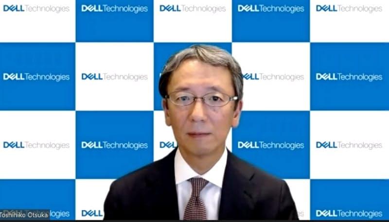 デル・テクノロジーズ日本法人の大塚俊彦社長