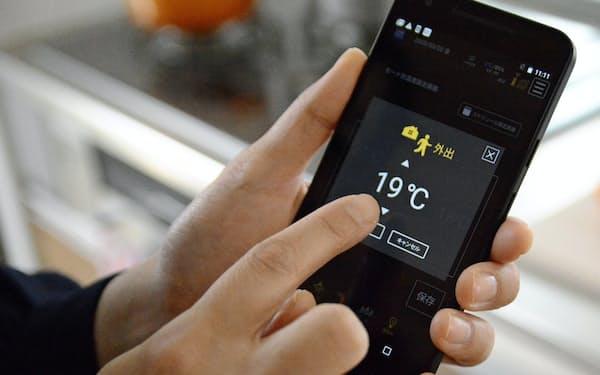 他の世帯と比べたエネルギーの無駄使いをシステムが教えてくれる(札幌市)