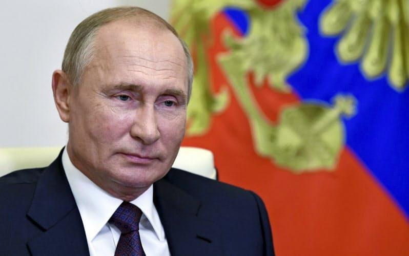 13日のロシア統一地方選はプーチン与党の人気を測る重要な試金石となりそうだ=AP