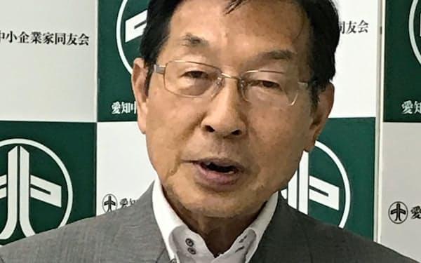 加藤明彦 愛知中小企業家同友会会長