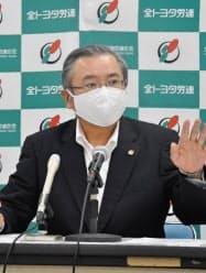 鶴岡光行 全トヨタ労働組合連合会会長