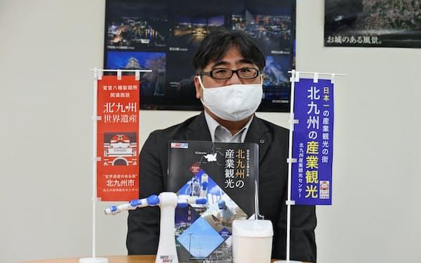 北九州産業観光センターの船津章裕会長