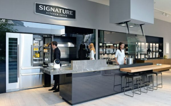 LGの最上位ブランド「シグニチャー」の家電は欧米市場で人気が高い
