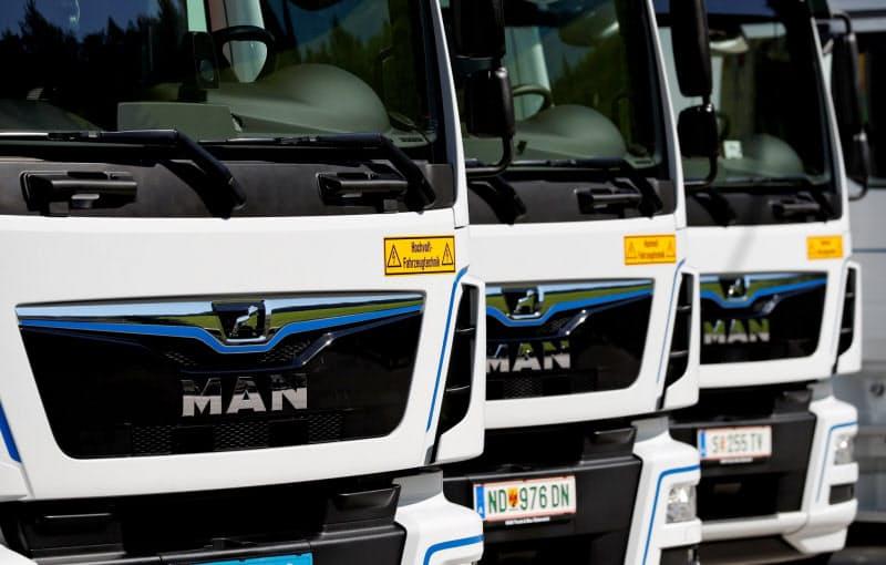 MANは電気トラックやデジタル化への投資負担が重い=ロイター