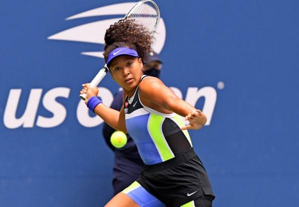 テニスの全米オープンで、大坂はアザレンカを破り2度目の優勝を飾った=USA TODAY