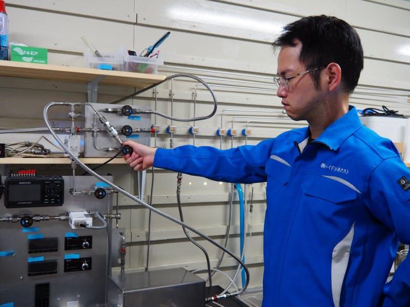 混合ガスからほぼ100%水素 大分の新興企業が精製手法