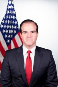 米州開発銀行の次期総裁に選出されたマウリシオ・クラベルカロネ氏=同行提供
