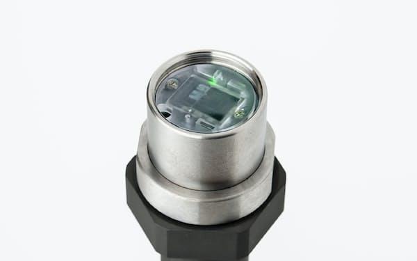 ネジロウがカシオ計算機と開発を進めるIoTネジ。小型センサーを内蔵し、ネジの状態を把握できる