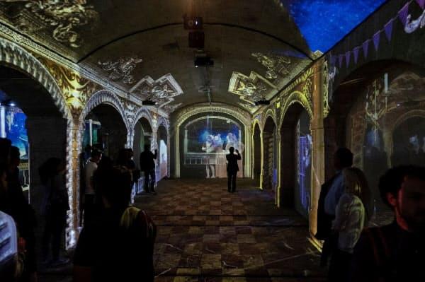 富士フイルムのプロジェクターが使われたポルトガルでデジタルアート展