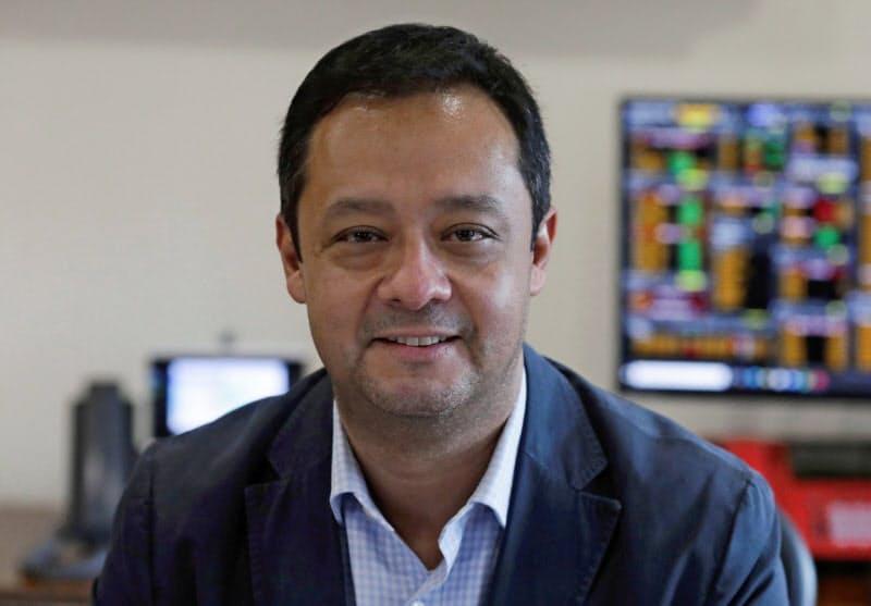 メキシコ財務公債省のガブリエル・ジョリオ次官=ロイター