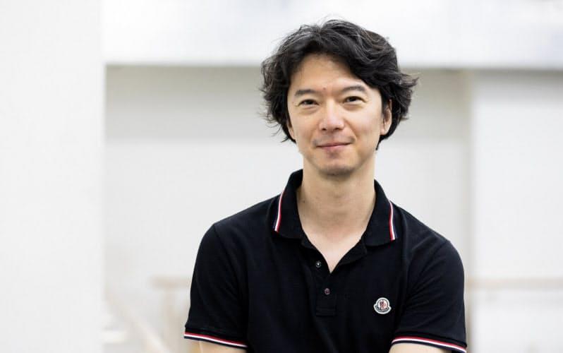 「M」の初演で「シ」を踊った小林十市=松橋 晶子撮影