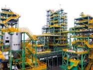JFEスチールは、フェロコークスを使った製鉄技術の確立に向け、実証実験を進める(西日本製鉄所の福山地区)