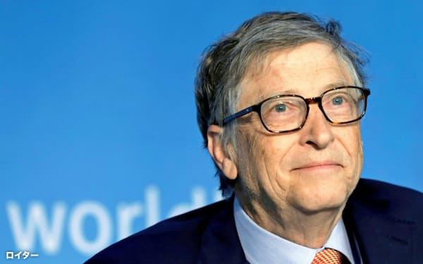マイクロソフト創業者のビル・ゲイツ氏(写真は2018年4月)=ロイター