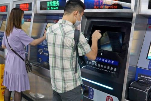 地下鉄の券売機など、不特定多数が触れる場所で需要がある(東超科技提供)