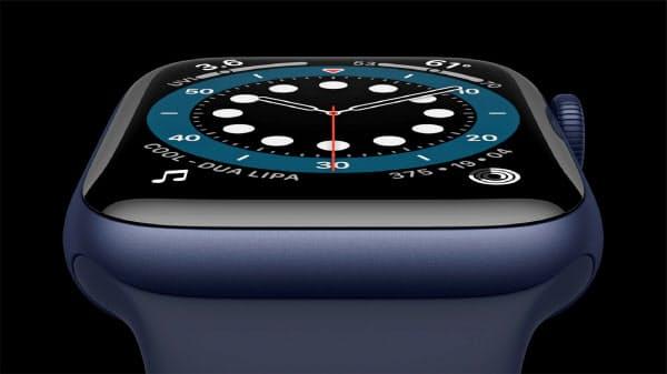 アップルが発表した血中酸素濃度を測れる腕時計型端末「Watchシリーズ6」