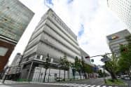 11月に心斎橋PARCOが開業し、百貨店との相乗効果を狙う(大阪市)