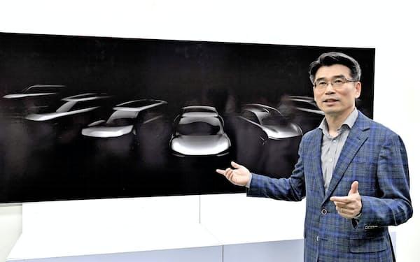 起亜自動車の宋虎聲社長は29年にEV比率を25%に高めると宣言した