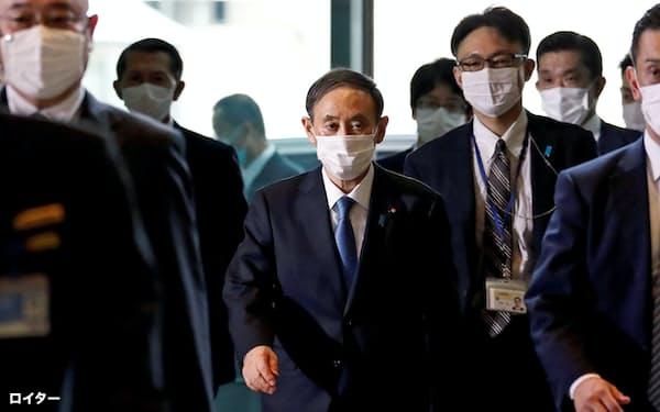 「経産省内閣」と呼ばれた安倍政権に対し、菅内閣では首相の政務秘書官などから経産省出身者が外れた(16日)=ロイター