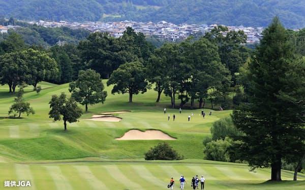 開場100年の鳴尾GCで日本シニアオープンが行われるのは2度目だ=提供JGA