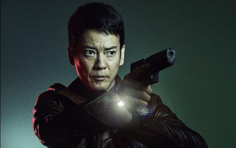ドラマ「24 JAPAN」で捜査官を演じる唐沢寿明