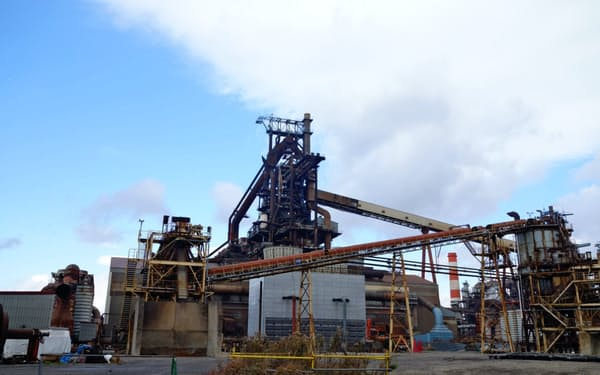 AIシステムを導入した神戸製鋼の加古川製鉄所