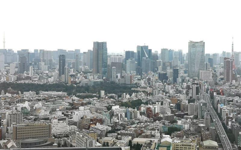 東京都心部のオフィス賃料は下落局面に入った