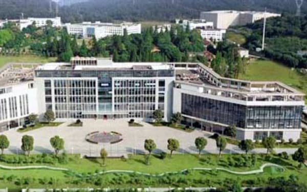 中国医薬集団グループでワクチンを開発する研究所(湖北省武漢市、同研究所のサイトから)