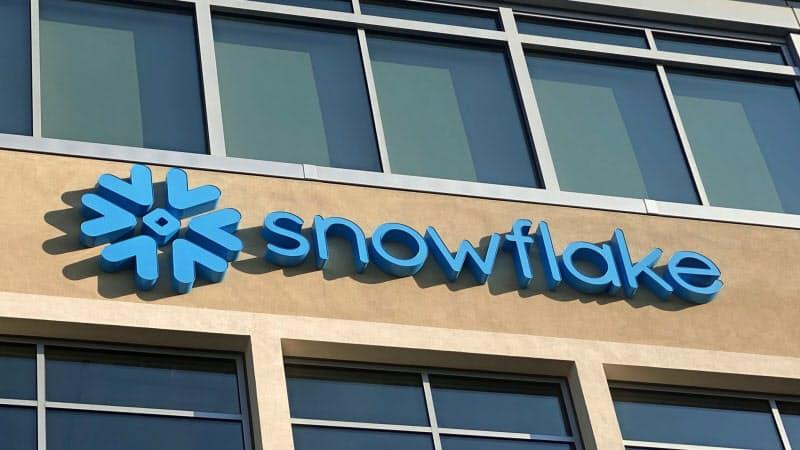 米スノーフレイクの新規株式公開(IPO)の規模は今年最大になった(米カリフォルニア州サンマテオ市の本社)