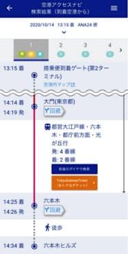 ANAのルート検索サービスから地下鉄の観光チケットが予約・購入できる