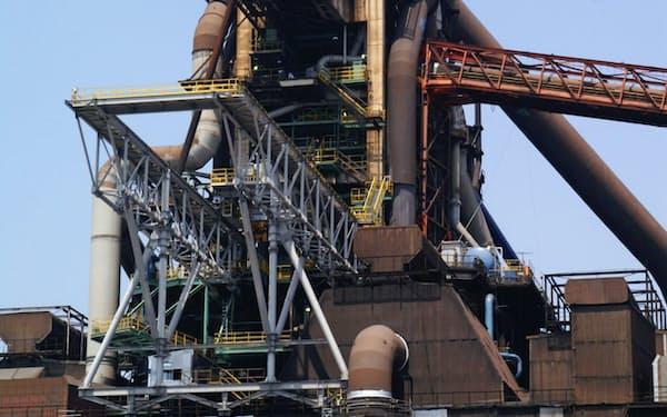 9月17日に再稼働したJFEスチール西日本製鉄所福山地区の「第4高炉」