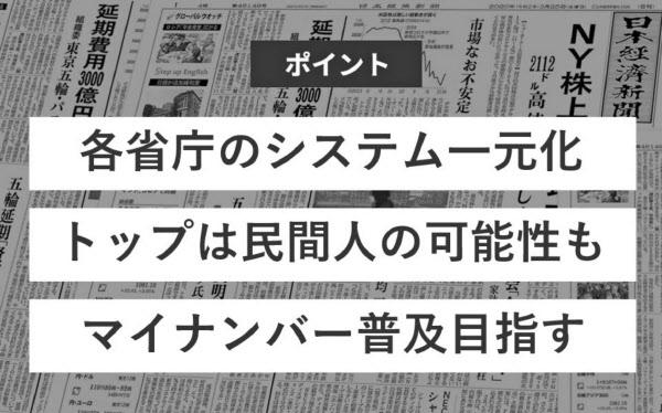 新設予定のデジタル庁とは?: 日本経済新聞