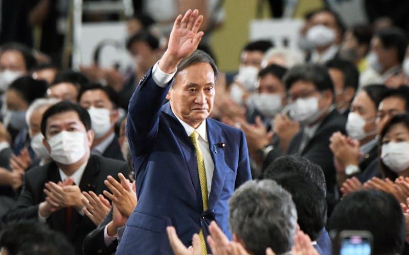 総裁選支えた「菅グループ」 無派閥・非世襲の若手集う