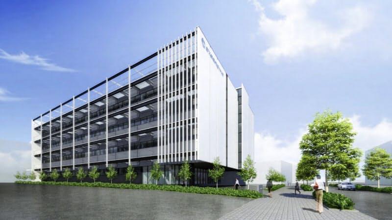 サイバーダインが川崎市に新設する拠点「サイバニクス イノベーション ベース(仮称)」のイメージ図
