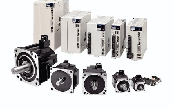 安川電機が開発販売するACサーボモーター