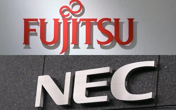 富士通(上)やNECなど旧「電電ファミリー」が東京株式市場で買われた