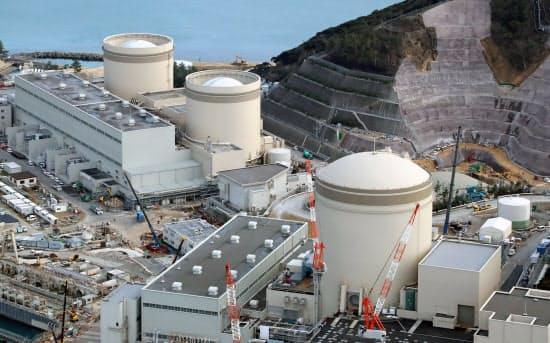 関西電力は福井県美浜町で初めて取締役会を開く(同町にある美浜原子力発電所)