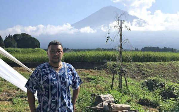 富士山を臨める土地にエコツーリズムの拠点になるキャンプ場を開業する(静岡県富士宮市)
