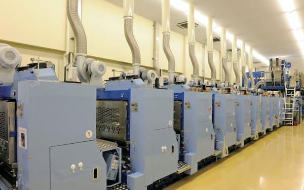 新会社が拠点をおく兵庫県福崎町の工場