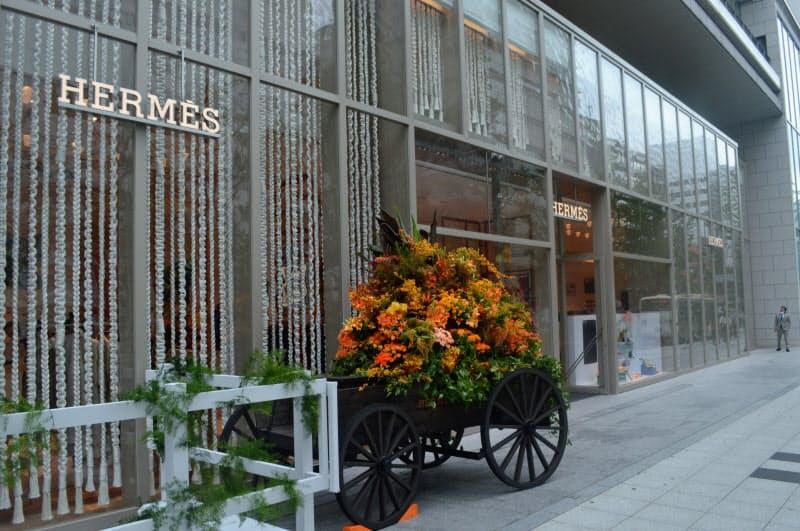 心斎橋PARCO1階に「エルメス大丸心斎橋店」が開業する(大阪市)