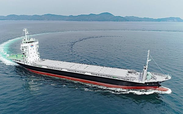 日本財団は無人運航船の経済効果は40年に1兆円になると見ている(提供:DFFASプロジェクト)