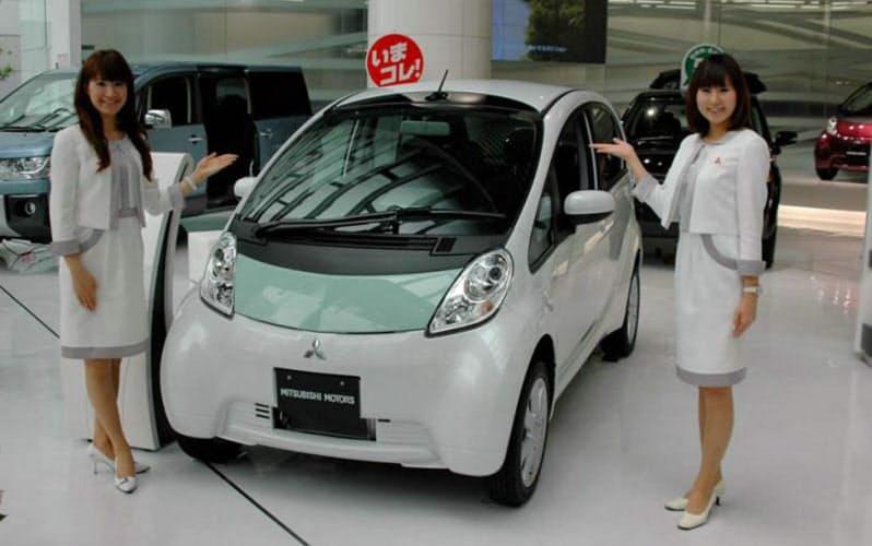三菱自動車は電気自動車(EV)「アイ・ミーブ」の生産を終える