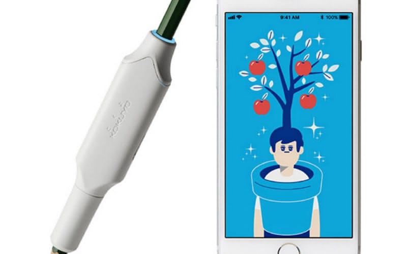 鉛筆で書いた量をアプリで確認できる「しゅくだいやる気ペン」